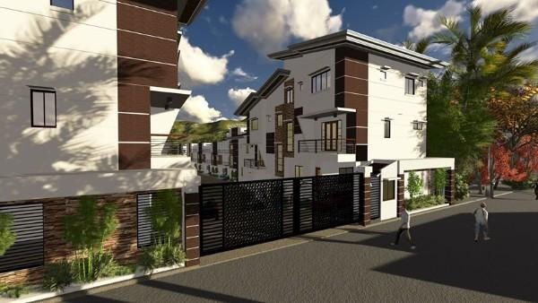 A 30 unit developed townhouses located in the heart of Cebu City