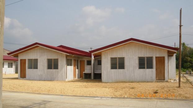 Low-cost housing in Liloan Cebu.