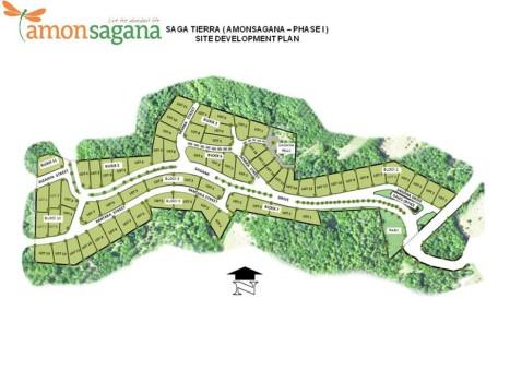 Amonsagana-map