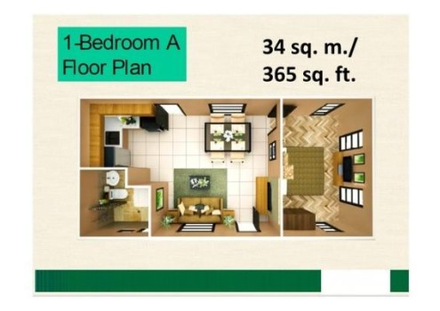 Courtyards-at-Brookridge-1-Bedroom-Unit_4