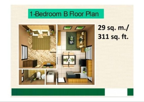 Courtyards-at-Brookridge-Cebu-1-Bedroom-Unit_6