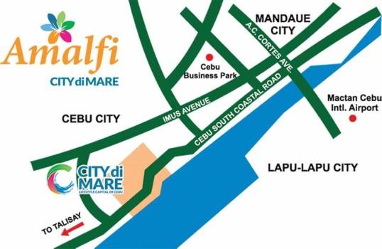 city-di-mare-location
