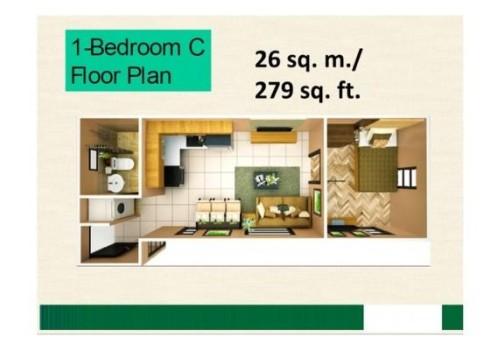 courtyards-1-Bedroom-Condo-Unit-C