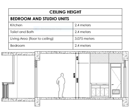 Northstar-ceiling-height