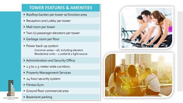 casa mira tower - features-amenities
