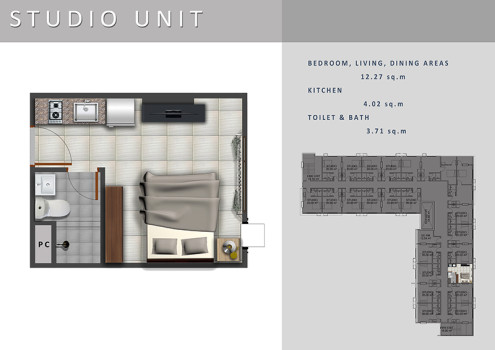 casa mira tower- studio