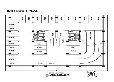 3rd flr plan