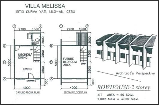 rowhouse floor plan