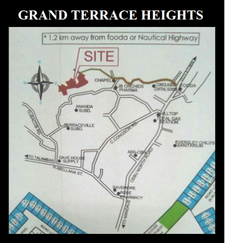 GRAND TERRACE HEIGHTS VICINITY MAP