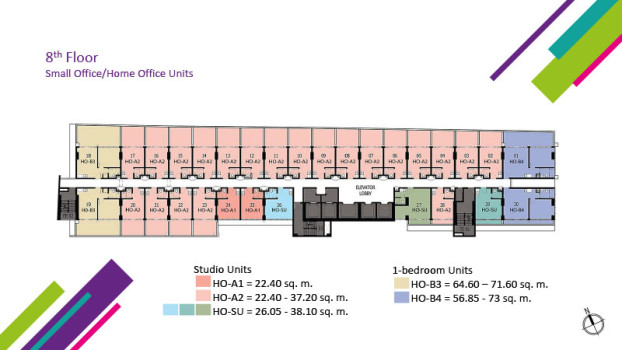 8th Floor (Small Office/Home Office Units)